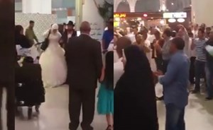 Video: Egyptian arrested for hugging bride at Medina airport