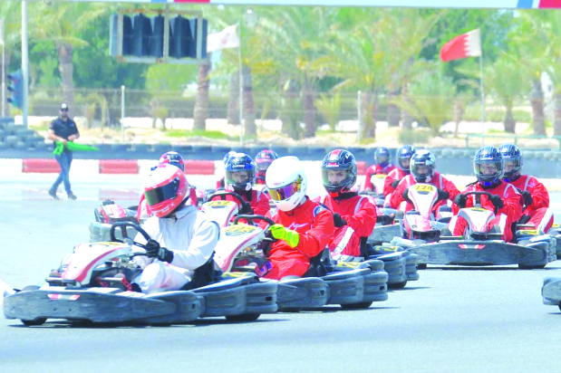 Kooheji triumphs in Karting Championship