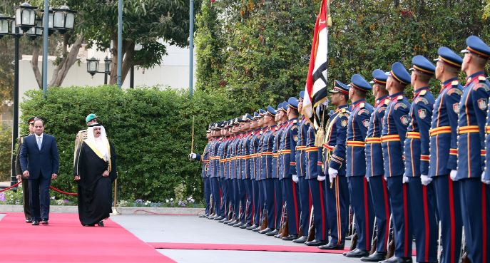 In Pictures: King Hamad hails strong Egypt ties