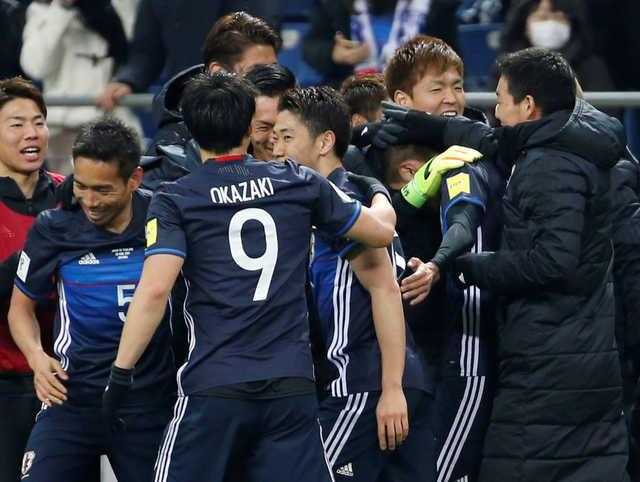 Japan crush Thailand 4-0 in World Cup qualifier