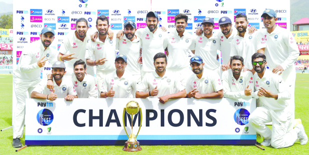 India wrap up series in style