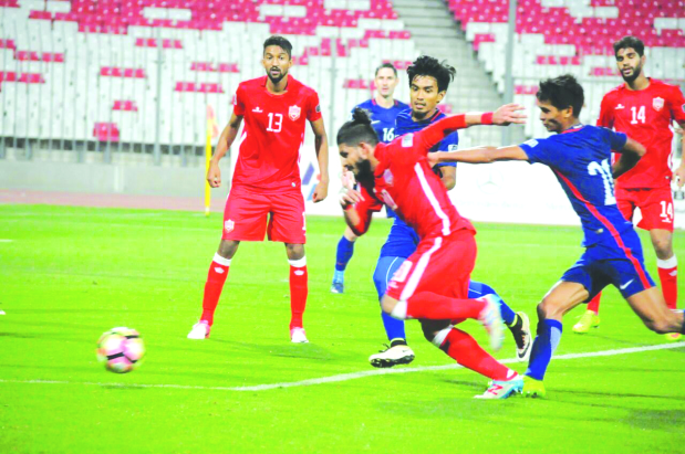 Bahrain held by Singapore in Asia Cup qualifiers