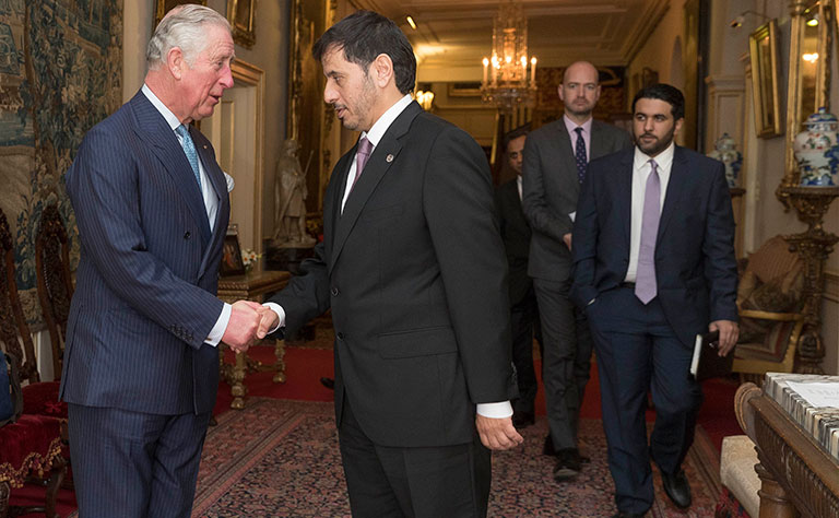 Qatari Premier meets Prince of Wales