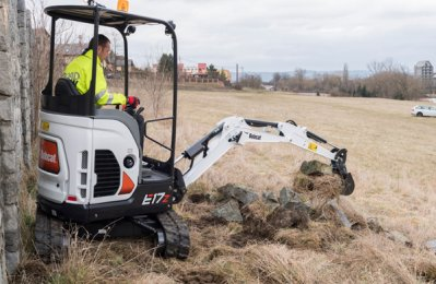 Bobcat rolls out new tail swing excavator