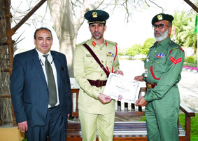 Emirati policeman who 'gave himself a fine' is promoted