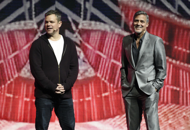 Matt Damon expects George Clooney to be 'a mess as a father'