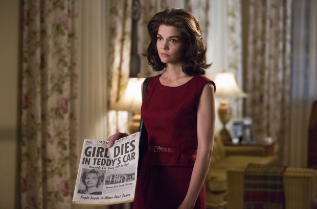 Katie Holmes, Matthew Perry take on 'The Kennedys' drama