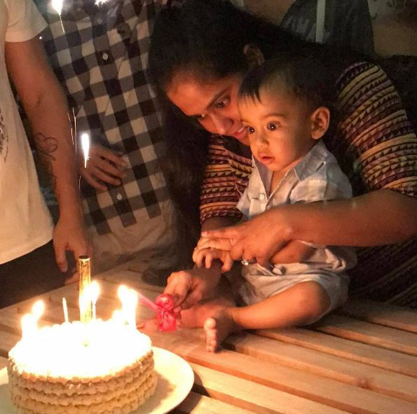 Here are PHOTOS from Salman's nephew Ahil's larger-than-life birthday bash in Maldives!
