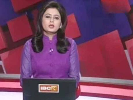 TV news anchor reads out breaking news of husband's death in car crash