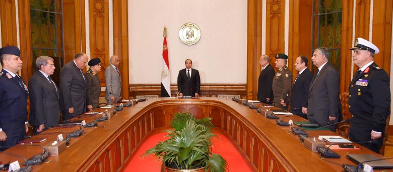 Egypt's Sisi says three-month state of emergency to be declared