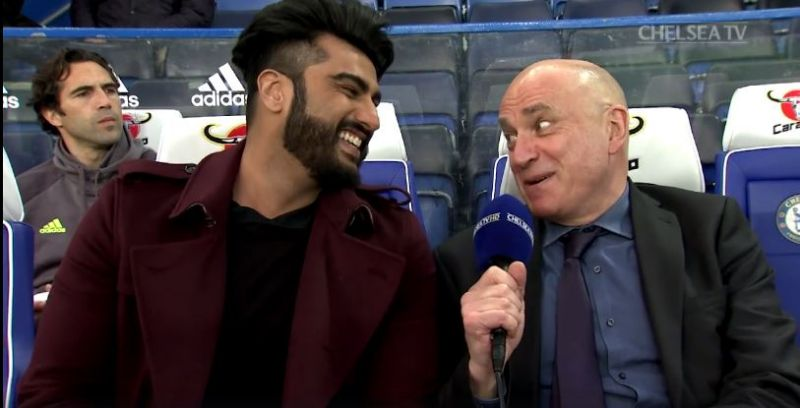 WATCH: Arjun Kapoor was interviewed by Chelsea FC and this is what he said!