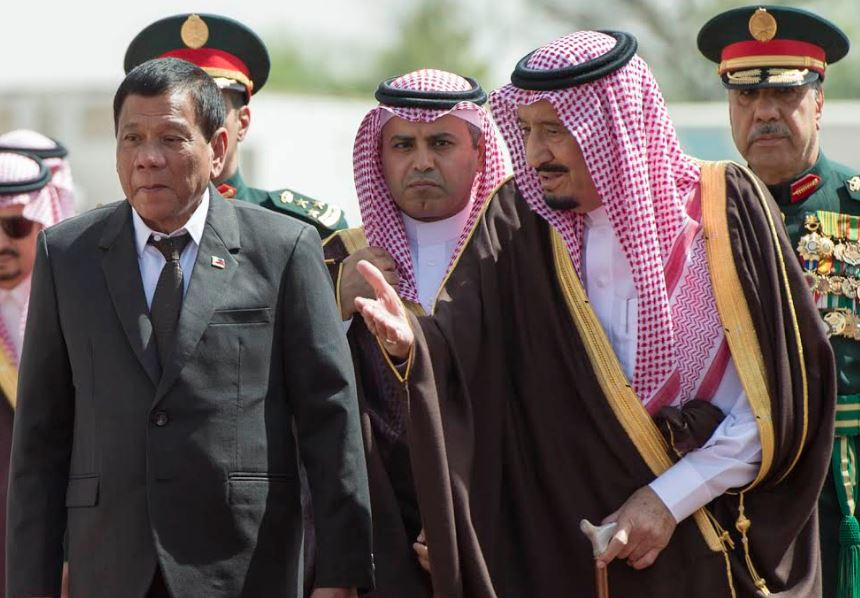 PHOTOS: Saudi King meets Philippines President, agreements signed