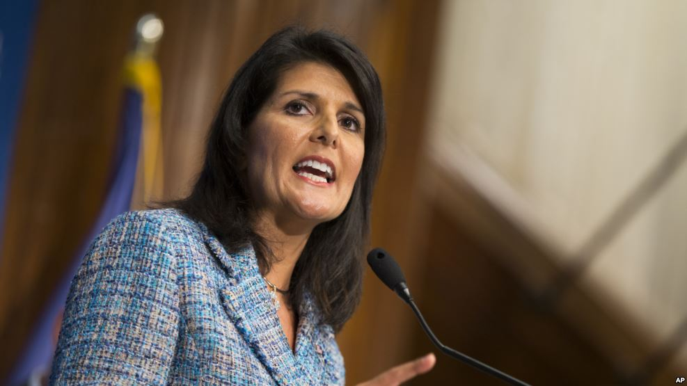 US ready to help bring Syria conflict to end: Haley