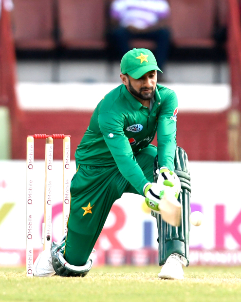 Pakistan clinch one-day series against West Indies