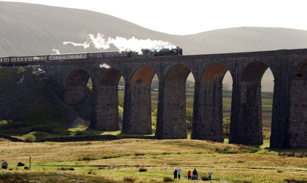 Steam train hits 100mph in UK in 50-year first