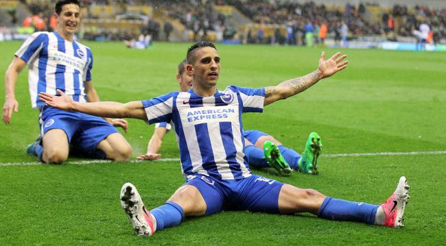 Brighton close in on slot in Premiership