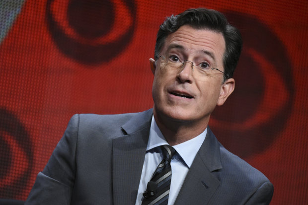 Stephen Colbert wants you to 'forgive him & buy his book'