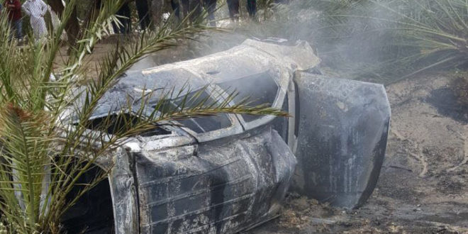 Egyptian killed and three injured in horror car crash
