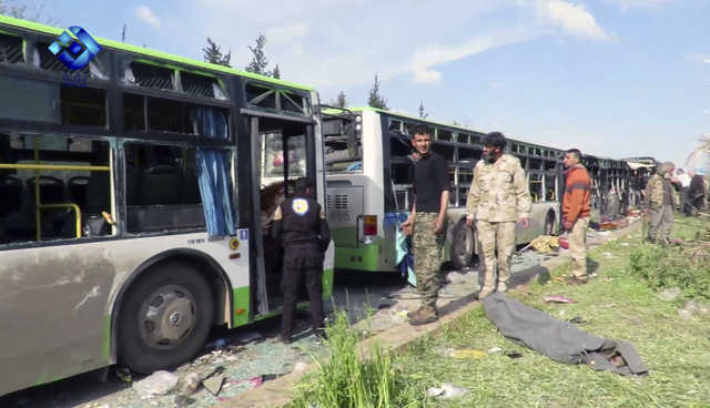 Mass evacuation in Syria to proceed after deadly blast