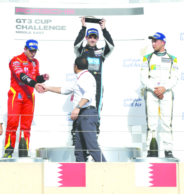 Cullen claims drivers' title