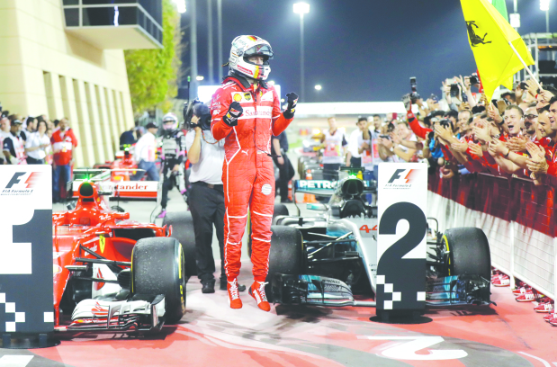 Vettel 'at forefront' of title chase