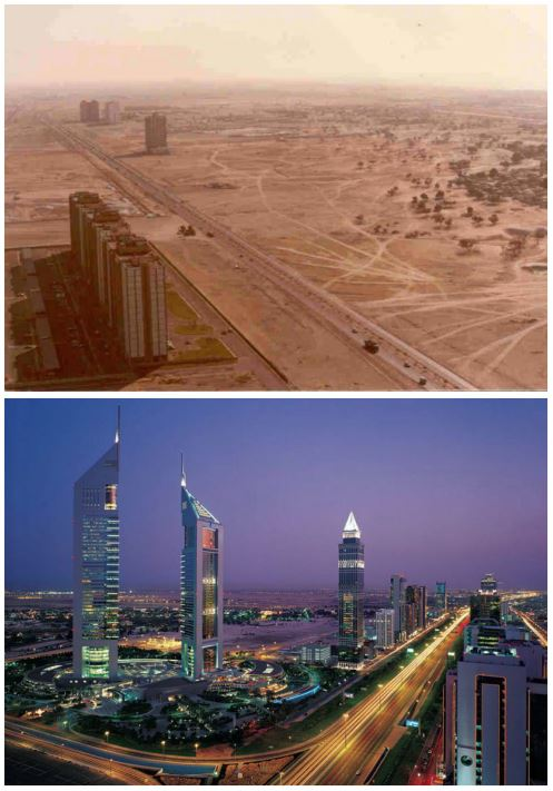 Dubai among 10 cities that changed beyond recognition