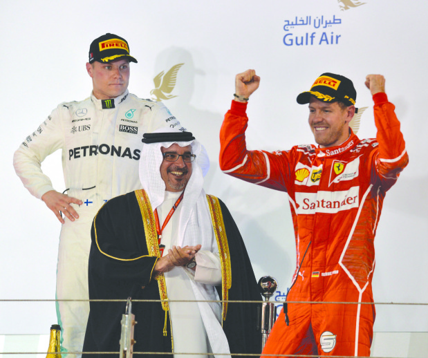 Vettel finds the winning Formula