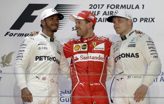 In-season F1 testing at BIC