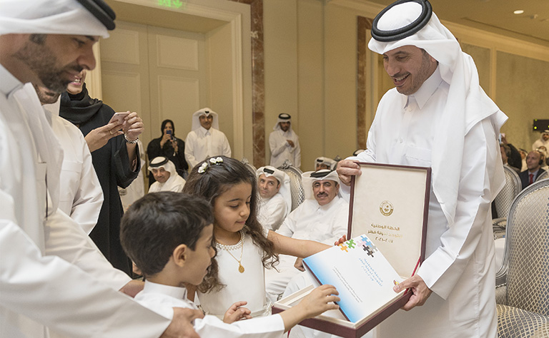 Qatar launches plan to improve lives of people with autism