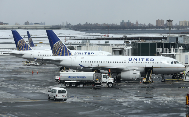 United's first quarter profit fell 69 percent, before dragging incident