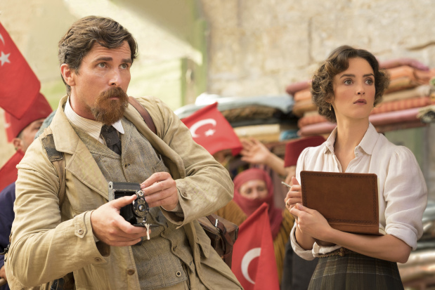 In 'The Promise,' Christian Bale stars as an AP reporter