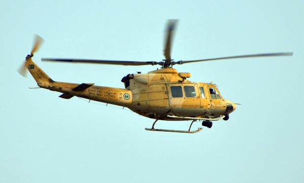 Saudi Army helicopter crashed
