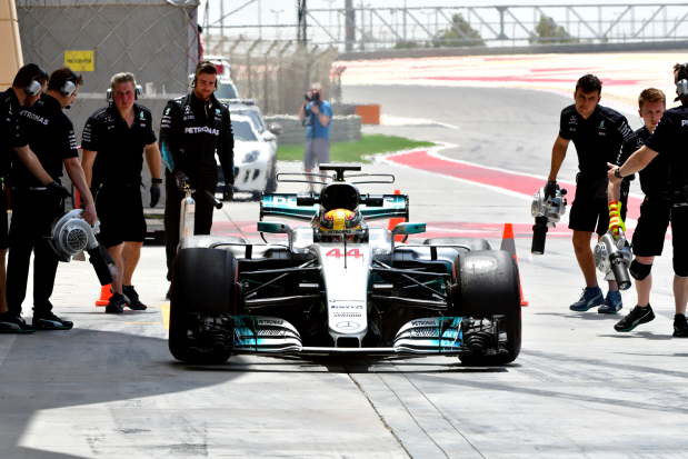 Hamilton fastest in in-season testing