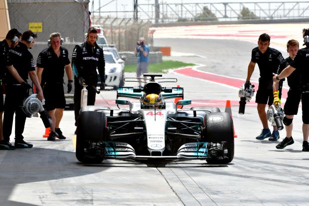 Hamilton fastest in in-season testing