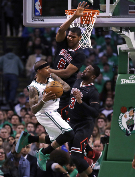 Bulls beat Celtics to double the lead