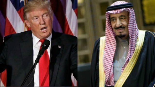 Trump likely to visit Saudi Arabia during a trip to Europe in May: US official