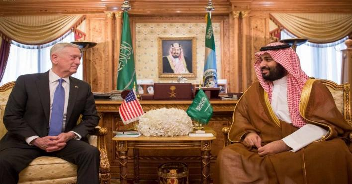 Saudi Deputy Crown Prince meets US Defence Secretary