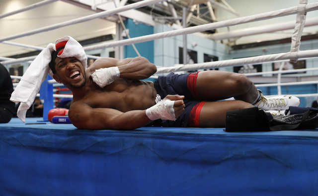 Boxing: Joshua's mind on Fury despite looming Klitschko fight