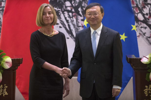 EU says China, Europe have interest in averting Korea crisis