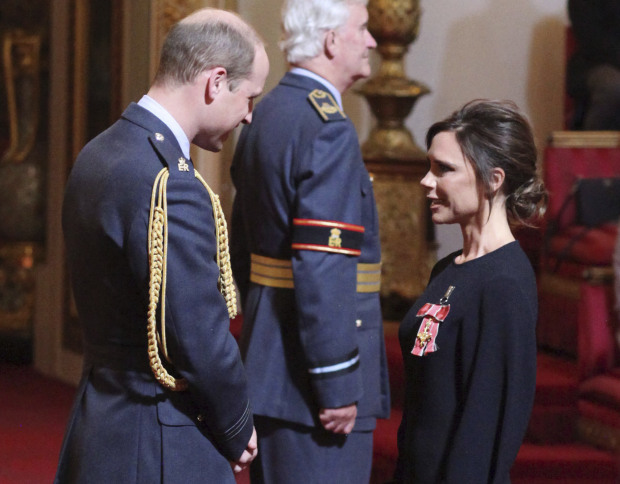 PHOTOS: Victoria Beckham gets royal recognition
