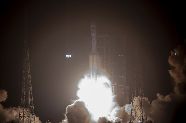 China launches first cargo spacecraft as part of space station goal