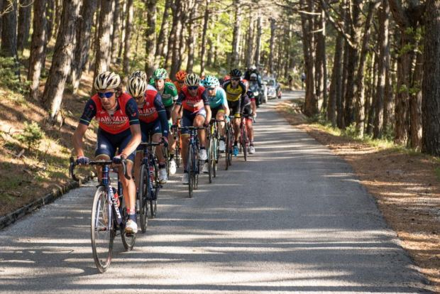Bahrain Merida team riders shine in Croatia