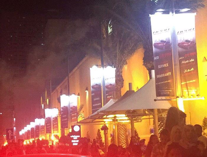 Fire breaks out at restaurant in Sharjah