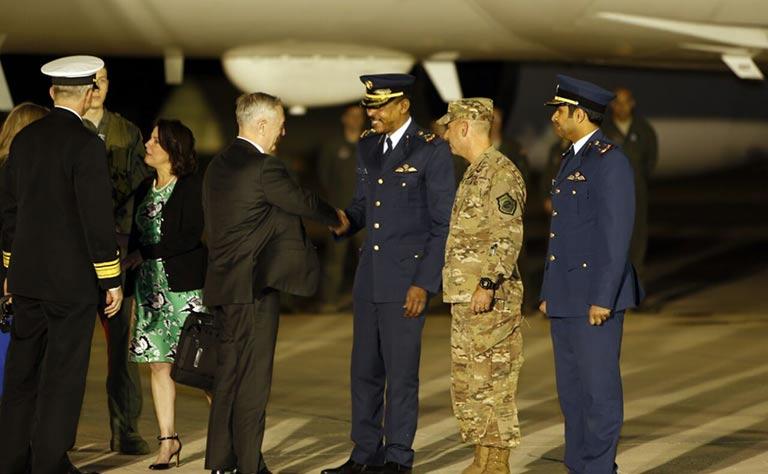 US Defence Secretary on visit to Qatar