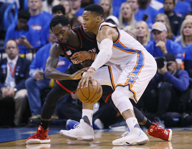 NBA: Russell Westbrook's triple-double leads Thunder past Rockets