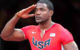 Gatlin set to shine in Bolt's absence