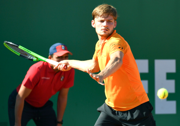 Goffin shocks Djokovic in Monte Carlo Masters quarter-finals