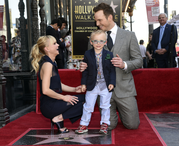 In Pictures: Action hero Chris Pratt honoured with star on Hollywood's Walk of Fame