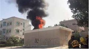 Kuwait power transformer unit blaze put out by firemen
