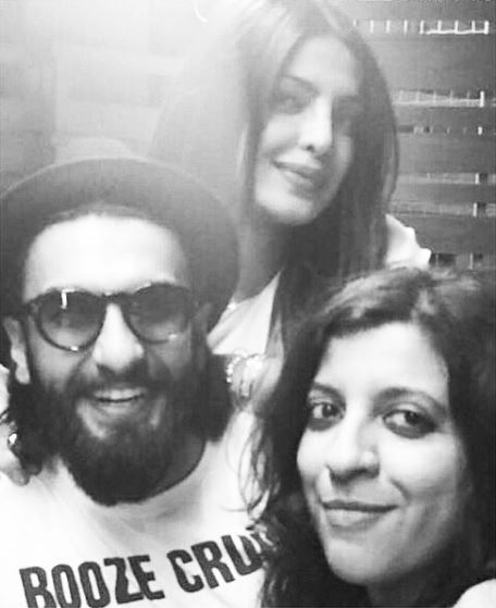 Priyanka Chopra's day out with Ranveer Singh, Zoya Akhtar